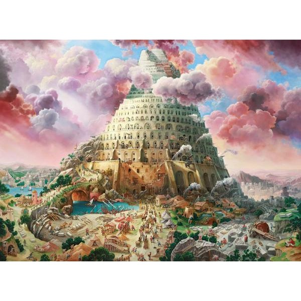 Puzzle Castorland 3000 Alexander Michalchuk : TOWER OF BABEL