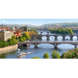Puzzle Castorland 4000 Vltava Bridges in Prague