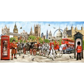Puzzle Castorland 4000 Macneil : PRIDE OF LONDON