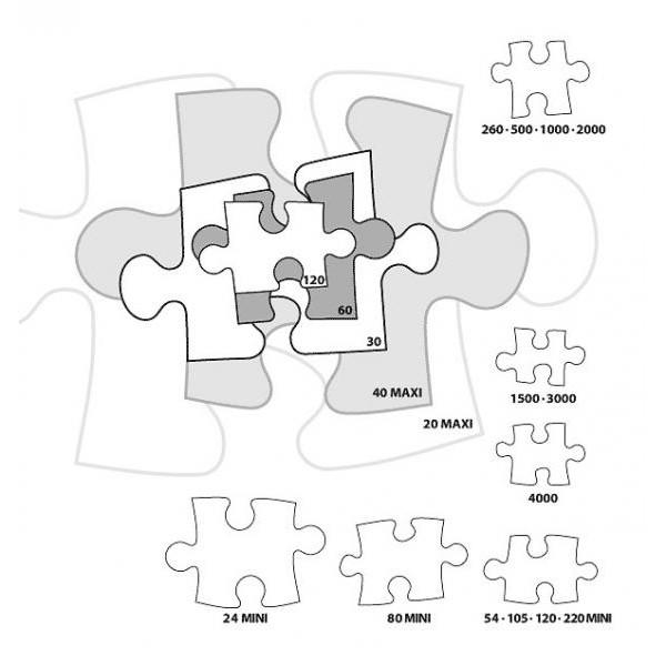 Puzzle Castorland Harta Romaniei---