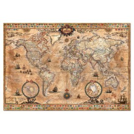 Puzzle Educa - Map of the World 1000 piese (15159)