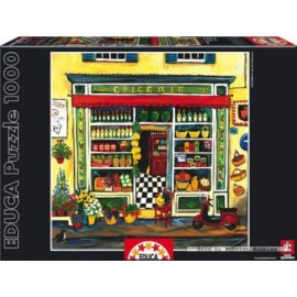 Puzzle Educa 1000 piese Suzanne Etienne: The Grocery Store