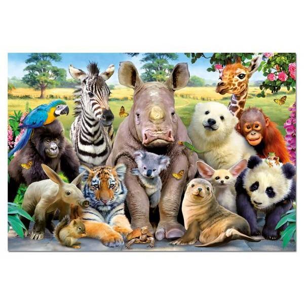 Puzzle Educa - School Class Photo 1000 piese