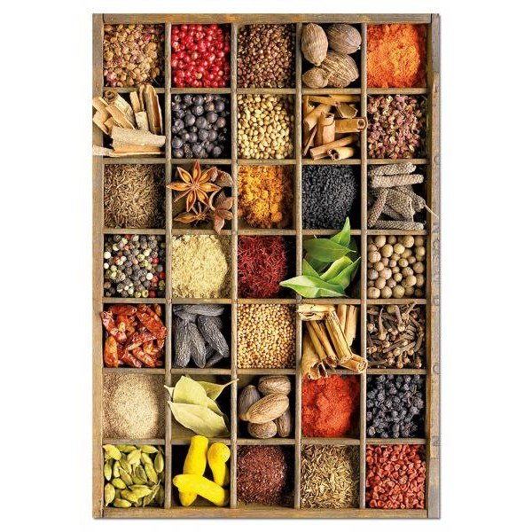 Puzzle Educa - Howard Shooter: Spices 1000 piese