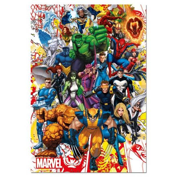 Puzzle Educa 500 Marvel Heroes