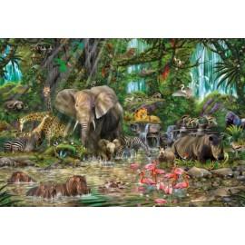 Puzzle Educa - African jungle 2000 piese