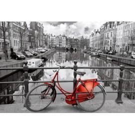 Puzzle Educa - Netherlands: Amsterdam 3000 piese (16018)