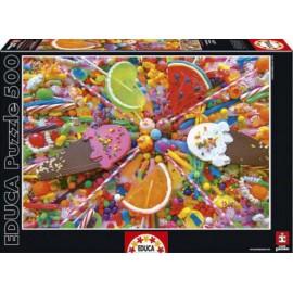 PUZZLE EDUCA 500 Sweets
