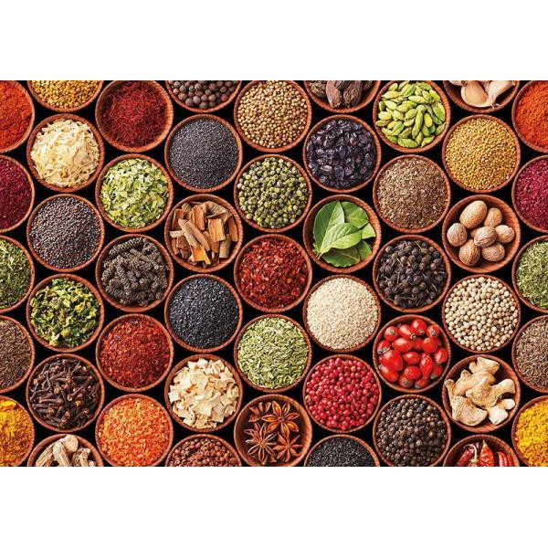 Puzzle Educa - Herbs and spices 1500 piese