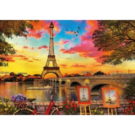 Puzzle Educa - Sunset in Paris 3000 piese (17675)