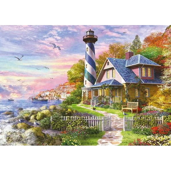 Puzzle Educa - Lighthouse at Rock Bay 4000 piese (17677)