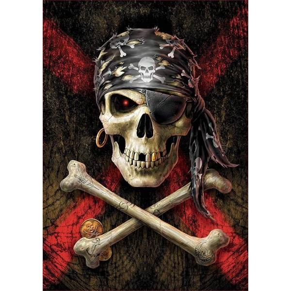 Puzzle Educa 500 piese Calavera pirata