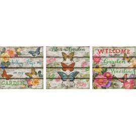 Puzzle Educa - Deco Country Garden 3 x 500 piese