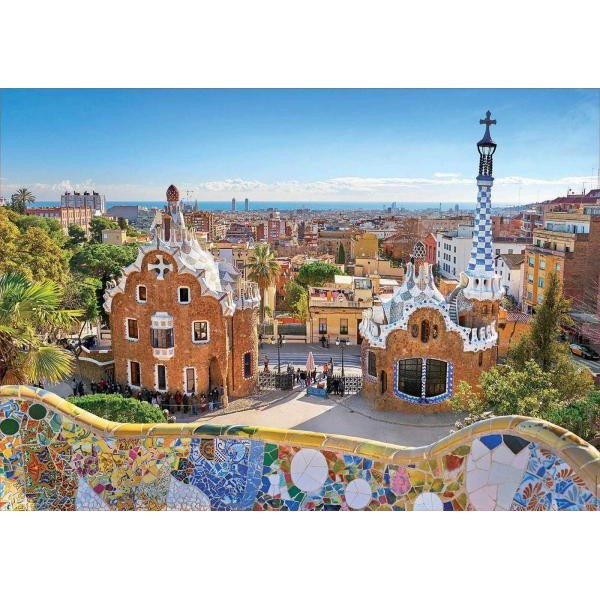 Puzzle Educa - Barcelona - View From Park Guell 1.000 piese