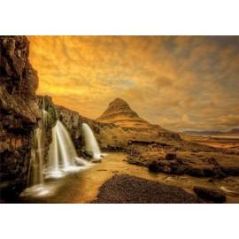 Puzzle Educa - Kirkjufellsfoss Waterfall 1.000 piese