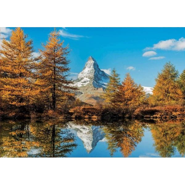 Puzzle Educa - Matterhorn Height in Autumn  1.000 piese