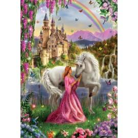 Puzzle Educa - Fairy And Unicorn 500 piese (17985)