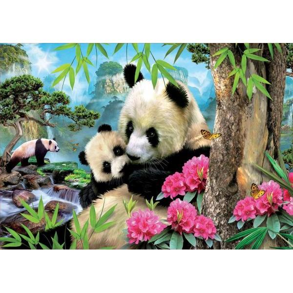 Puzzle Educa - Panda 1.000 piese