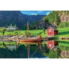 Puzzle Educa - Viking Boat 1500 piese