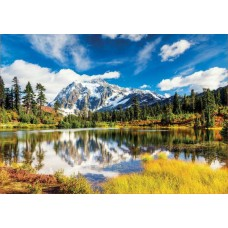 Puzzle Educa - Mount Shuksan Washington USA 3.000 piese
