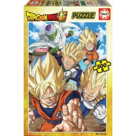 Puzzle Educa 500 piese Dragon Ball