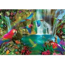 Puzzle Educa - Tropical Parrots 1.000 piese