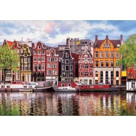 Puzzle Educa 1.000 piese Dancing houses Amsterdam