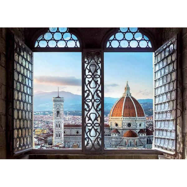 Puzzle Educa 1.000 piese Views of Florence Italy