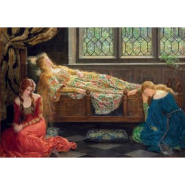 Puzzle Educa - The sleeping beauty 1500 piese
