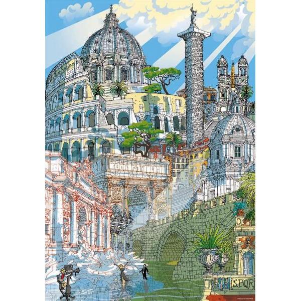 Puzzle Educa 200 piese Roma