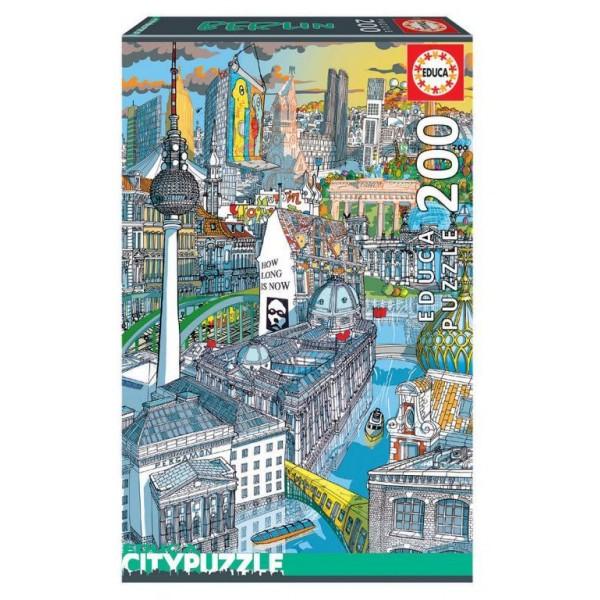 Puzzle Educa 200 piese Berlin