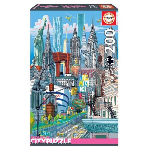 Puzzle Educa 200 piese New York