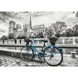 Puzzle Educa - Bike Near Notre Dame 500 piese