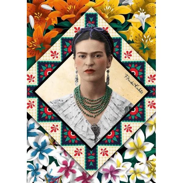 Puzzle Educa 500 piese Frida Kahlo