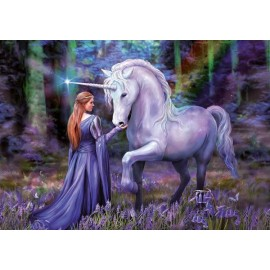 Puzzle Educa 1.000 piese Anne Stokes Bluebell Woods