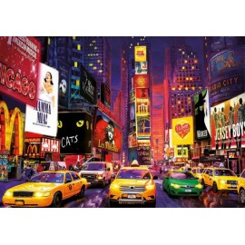 Puzzle fosforescent Educa - Times Square Neon 1000 piese (18499)