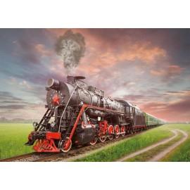 Puzzle Educa - Steam Locomotive 2.000 piese
