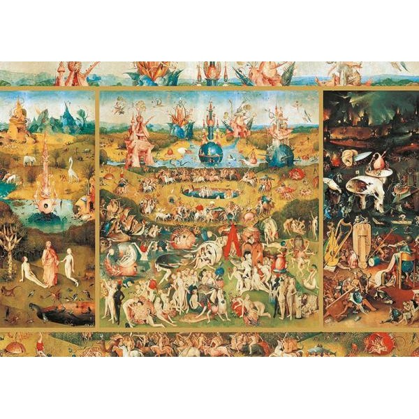Puzzle Educa - The Garden of Earthly Delights 2.000 piese