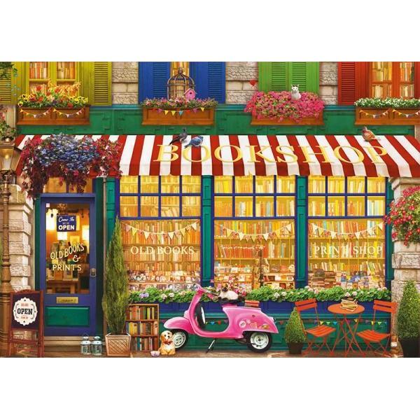 Puzzle Educa 4000 Vintage Bookshop