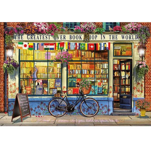 Puzzle Educa 5000 Greatest bookshop in the world