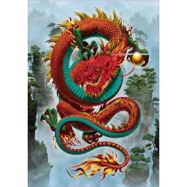 Puzzle Educa - Vincent Hie: Le Dragon De La Bonne Fortune 500 piese (19003)
