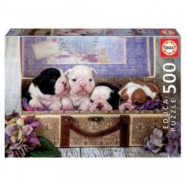 Puzzle Educa - Puppies 500 piese (19007)