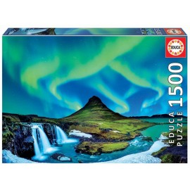 Puzzle Educa - Aurora Boreala 1500 piese