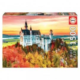 Puzzle Educa - Autumn in Neuschwanstein 1500 piese