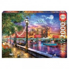 Puzzle Educa - London at sunset 2000 piese (19046)