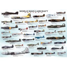 Puzzle Eurographics - 1000 de piese - World War II Aircraft