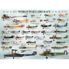 Puzzle Eurographics - 1000 de piese - World War I Aircraft