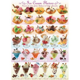 Puzzle Eurographics - 1000 de piese - Ice Cream Flavours