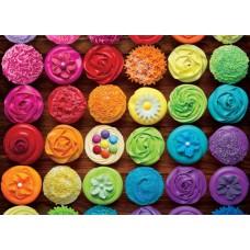 Puzzle 1000 piese - Cupcake Rainbow (Eurographics-6000-5625)