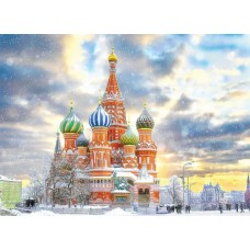 Puzzle 1000 piese - Saint Basil's Cathedral Moscow (Eurographics-6000-5643)